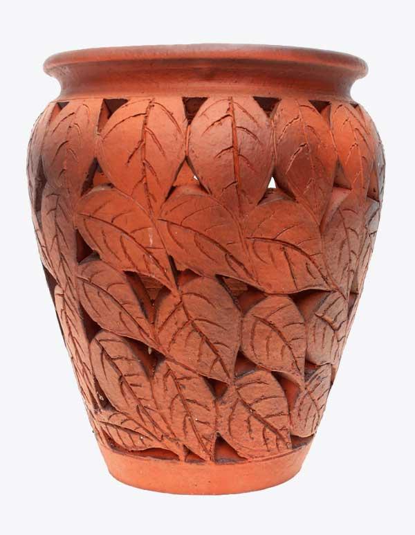 Leaf Cutting Jar Smoke Finish (TCL 421)